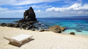 Apo wyspa, Filipiny Zdjęcia Stock
