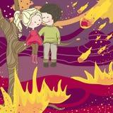 Apocalipse ilustração stock