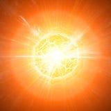 Apocalipse da explosão do planeta Fotos de Stock Royalty Free