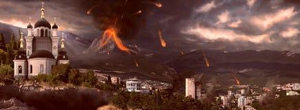 Apocalipse em 2012 Foto de Stock