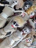 Apocalipsis del zombi de la muñeca Fotos de archivo libres de regalías