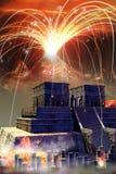 Apocalipsis maya ilustración del vector