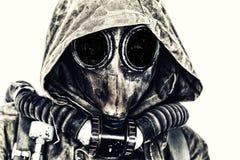 Apocalipsis nuclear de los posts foto de archivo libre de regalías