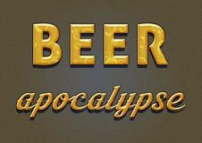 Apocalisse della birra Fotografie Stock