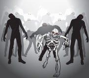 Apocalisse dello zombie Fotografia Stock Libera da Diritti