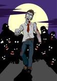 Apocalisse dello zombie Immagini Stock Libere da Diritti