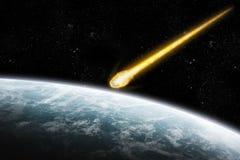 Apocalisse di esplosione del pianeta royalty illustrazione gratis
