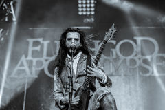 Apocalisse di Fleshgod in Hellfest 2016 Fotografie Stock