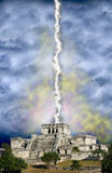 Apocalisse maya, estremità di giorno del giudizio universale del mondo Fotografia Stock Libera da Diritti