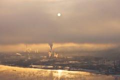 apocallipic θέση αυγής Στοκ φωτογραφίες με δικαίωμα ελεύθερης χρήσης