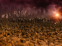 Apocalyps Stock Fotografie