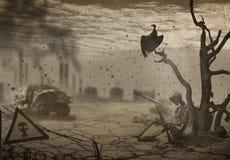 apocalyps Stock Foto's