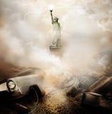 Apocalyps New York Stock Afbeeldingen