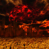 Apocalypse stock abbildung