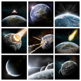 Apocalypse collage Royalty Free Stock Photography