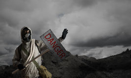 Apocalypse and disaster concept Stock Images