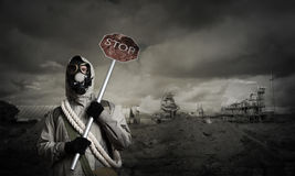 Apocalypse and disaster concept Stock Photo