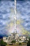 Apocalypse maya, extrémité de jour du Jugement dernier de monde Photographie stock libre de droits
