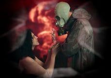Apocalypse romance Stock Images