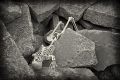 Apocalypse Skeleton Stock Photo