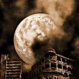 Apocalyptic landscape Royalty Free Stock Image