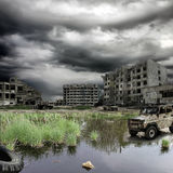 Apocalyptic landscape Royalty Free Stock Images