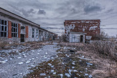 Apocalyptic ruins royalty free stock photography