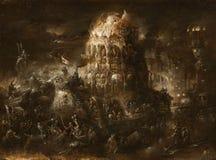 Apocalyptic scene Stock Photo