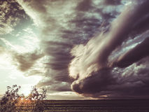 Free Apocalyptic Storm Clouds Stock Image - 92583541