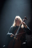Apocalyptica live 2017. Finnish band Apocalyptica playing live on their 2017 European tour Royalty Free Stock Photos