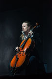 Apocalyptica live 2017. Finnish band Apocalyptica playing live on their 2017 European tour Stock Image