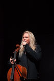 Apocalyptica live 2017. Finnish band Apocalyptica playing live on their 2017 European tour Royalty Free Stock Images