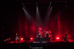 Apocalyptica live 2017. Finnish band Apocalyptica playing live on their 2017 European tour Royalty Free Stock Image
