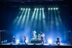 Apocalyptica vive 2017 Immagini Stock Libere da Diritti