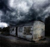 Apocalyptisch landschap vector illustratie