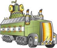 Apocalyptische Vrachtwagenvector Royalty-vrije Stock Afbeeldingen