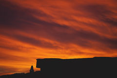 Apocalyptische zonsopgang Stock Afbeeldingen