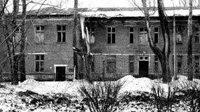 Apocalypto, XXIcentury, руины, здание, разрушение, апокалипсис Royalty Free Stock Photos