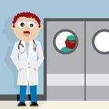 Apodo a los estudiantes de medicina Foto de archivo libre de regalías