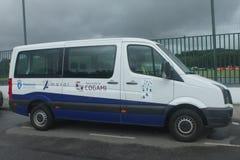 Apoie camionete Real Clube Deportivo de La Coruña Fotografia de Stock