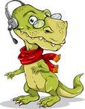 Apoio de Dino Imagens de Stock Royalty Free