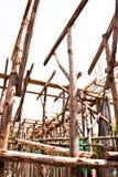 Apoio de madeira. imagens de stock