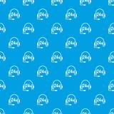 Apoio 24 horas de azul sem emenda do teste padrão Imagem de Stock Royalty Free