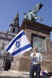 APOIO PARA ISRAEL Foto de Stock Royalty Free