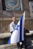 APOIO PARA ISRAEL Foto de Stock
