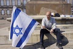 APOIO PARA ISRAEL Imagem de Stock Royalty Free