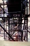 Apoio para a manutenção da escadaria foto de stock royalty free