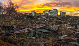 Apokaliptyczny krajobraz Zdjęcia Stock