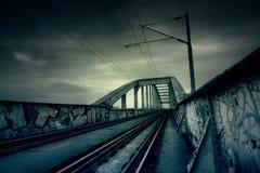 Apokaliptyczny most Obrazy Royalty Free