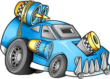 Apokaliptyczny pojazdu wektor ilustracja wektor